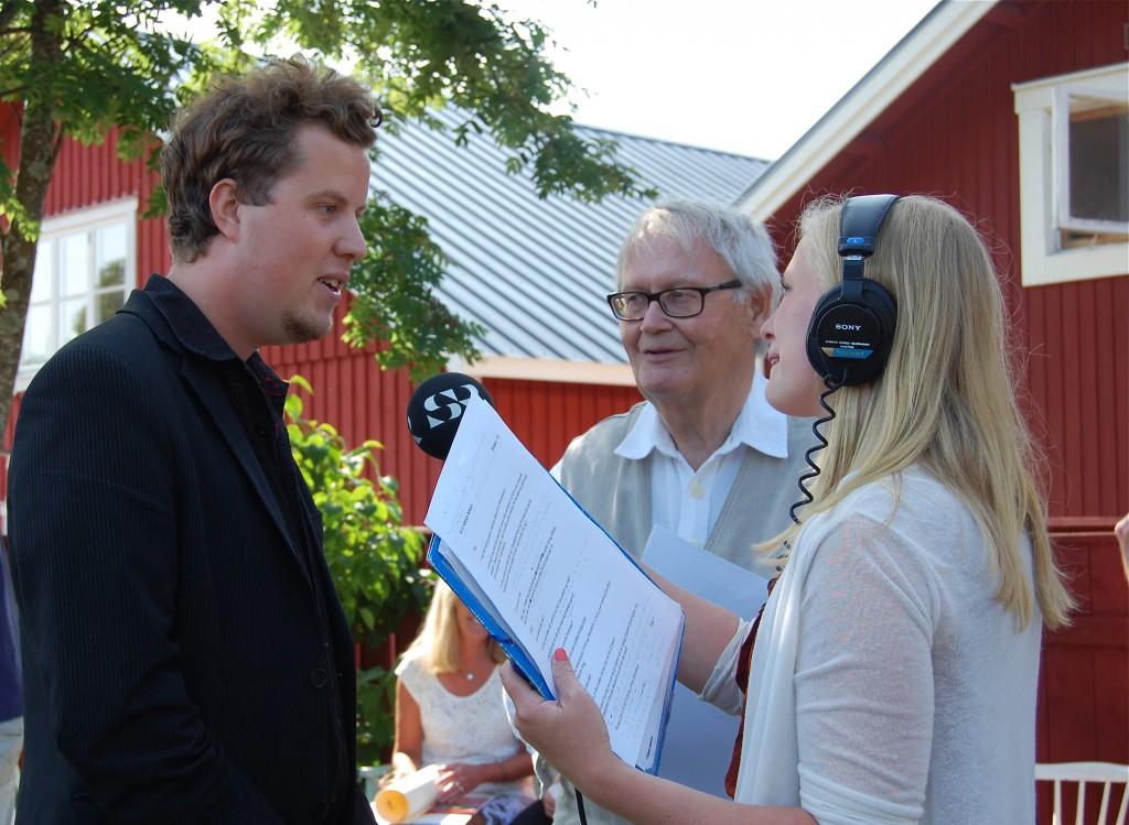 Radio Gävleborg intervjuar